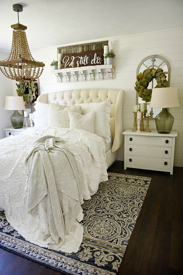 Farmhouse Bedroom Makeover - Liz Marie Blog