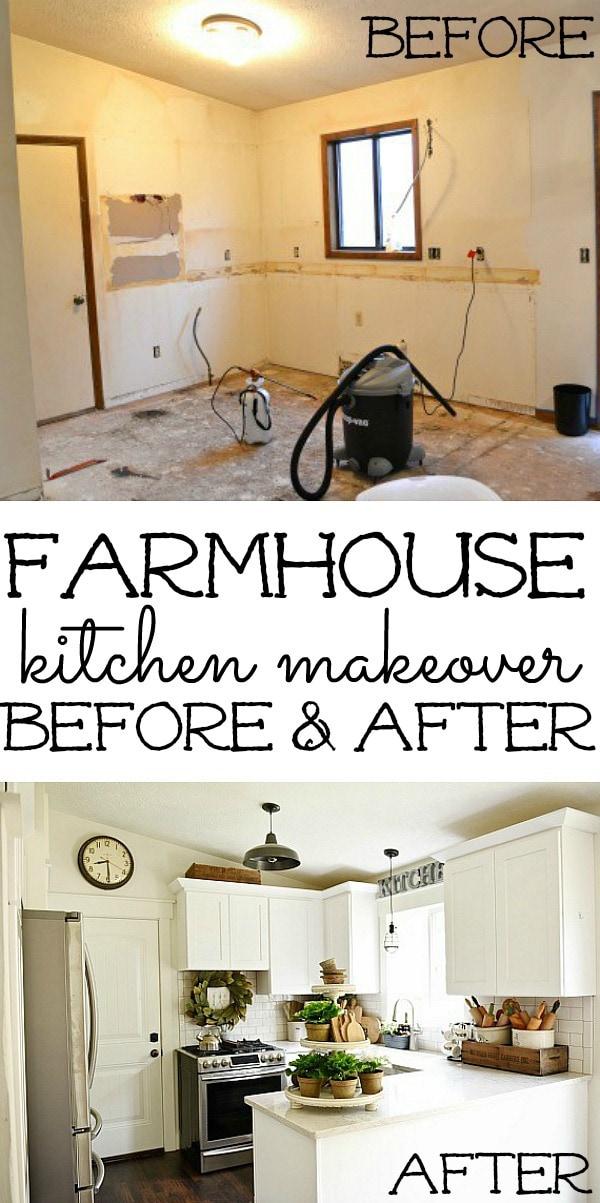Farmhouse Kitchen Makeover, Farmhouse Kitchen Makeover