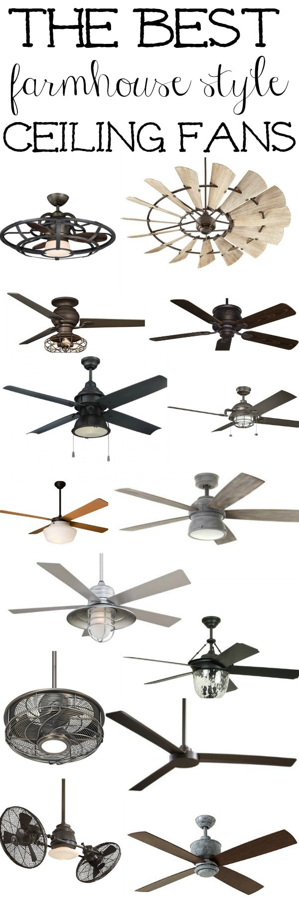 The best Farmhouse Ceiling Fans