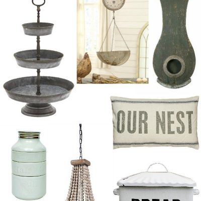 The Best Farmhouse Decor From Amazon