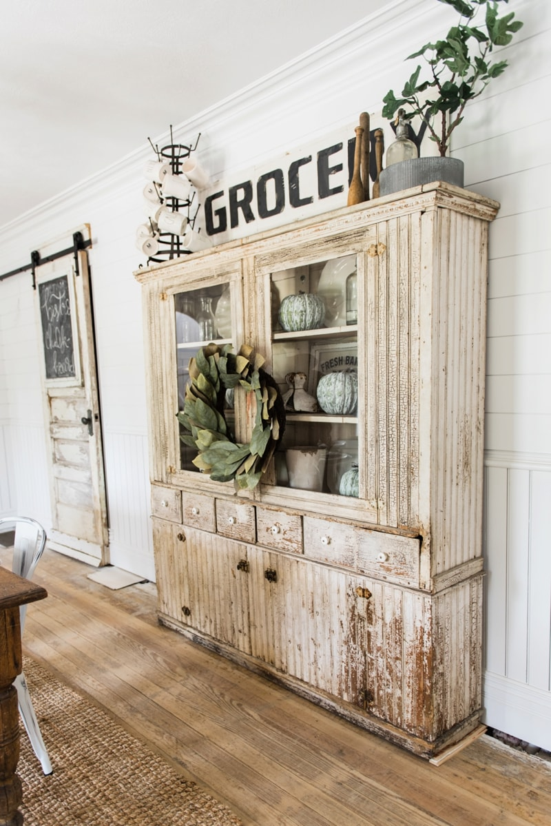 Primitive Dining Room Hutch - Liz Marie Blog