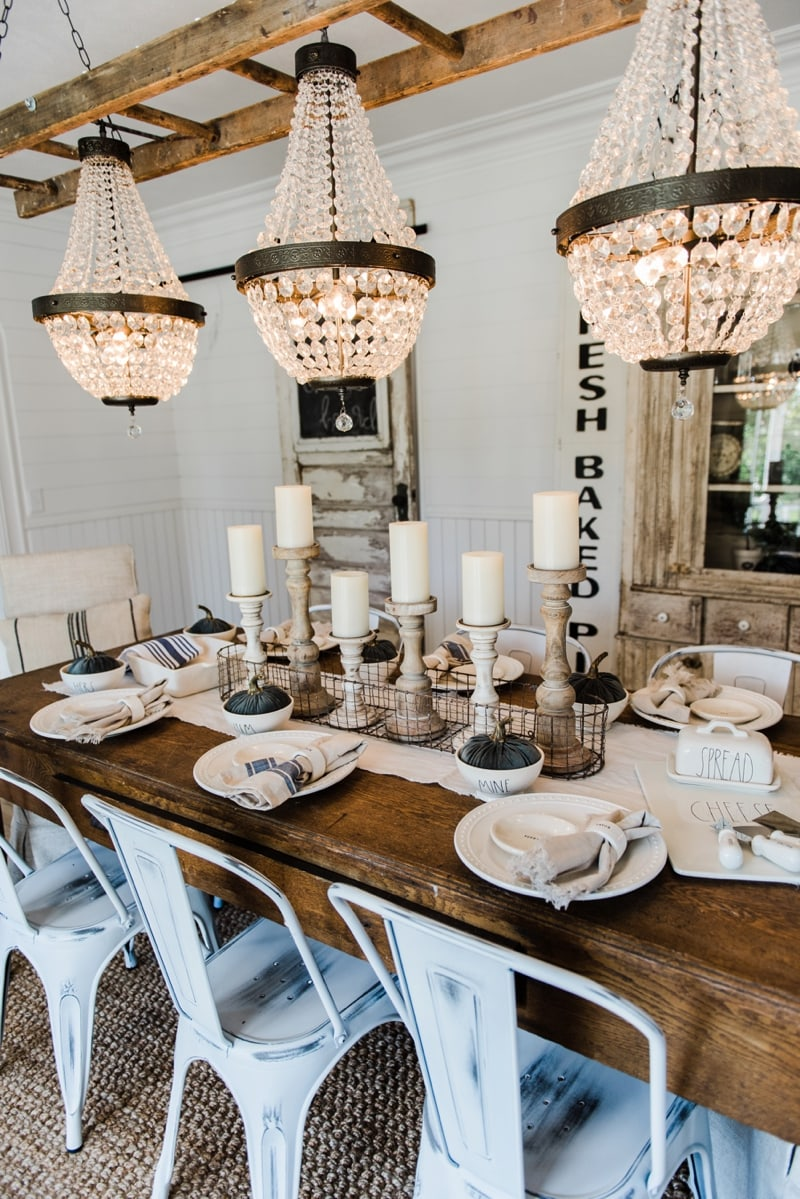 Liz marie blog all modern dining room table decor 0008 for Modern dining room 2016