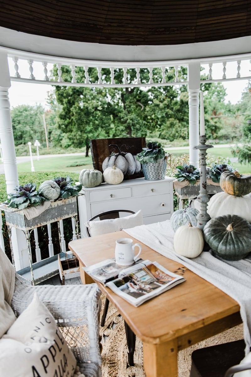 Fall In The Porch Gazebo