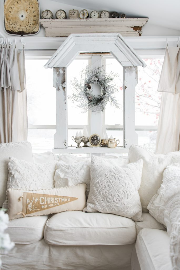 A Cozy Neutral Farmhouse Christmas Liz Marie Blog