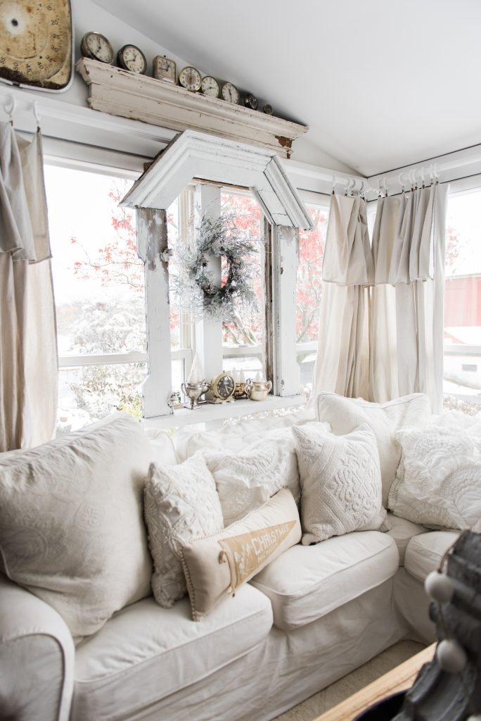 , A Cozy Neutral Farmhouse Christmas