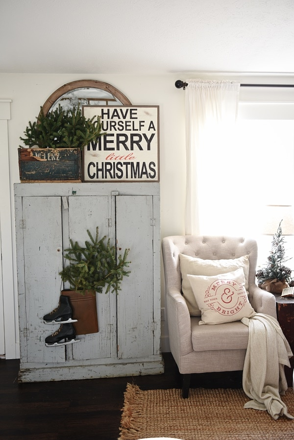 The Easiest Way To Get Farmhouse Christmas Style