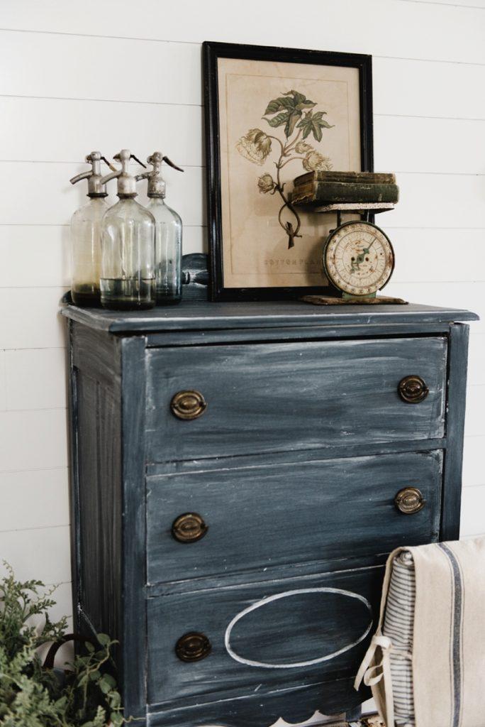 How to Chalk Paint a Dresser