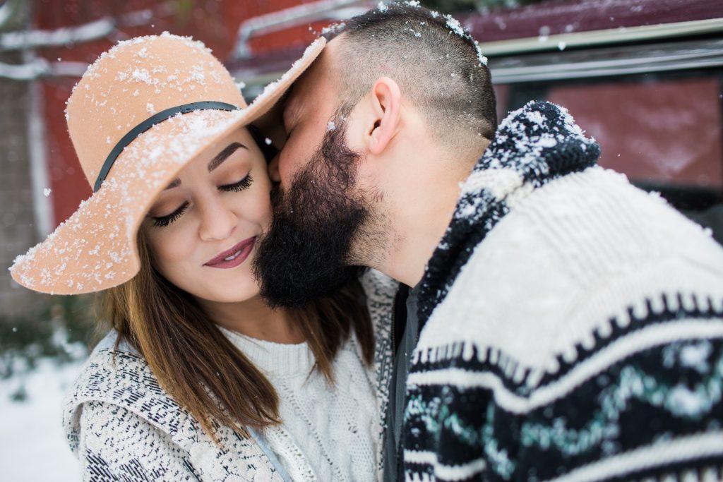 White Cottage Farm - Couples lifestyle photoshoot on the farm