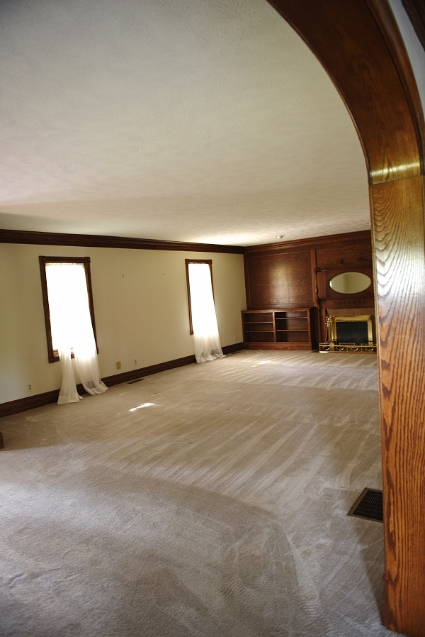 , Front Living Room Makeover – The Floors
