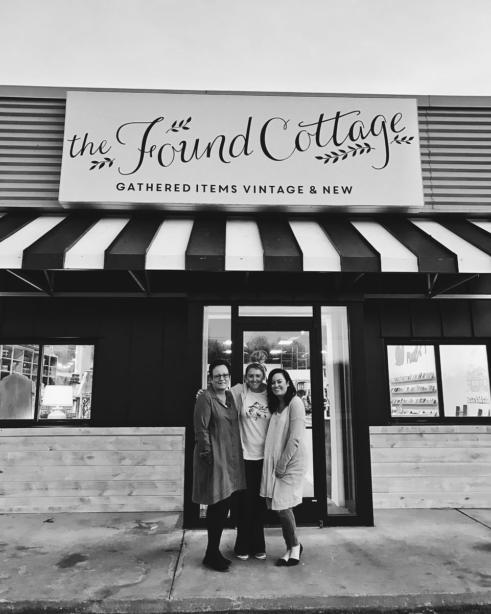 The Found Cottage, The Found Cottage Grand Re-Opening!