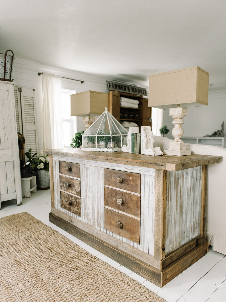 , A Sneak Peek At Our Kitchen Island