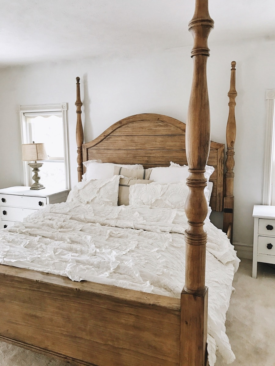 , Master Bedroom Makeover- Magnolia Bed