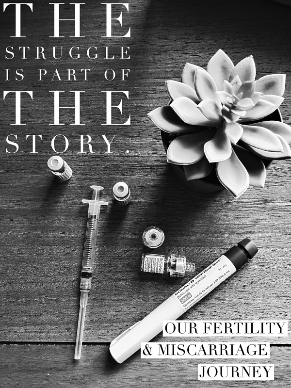 , Why I'm Open About Miscarriage & Infertility