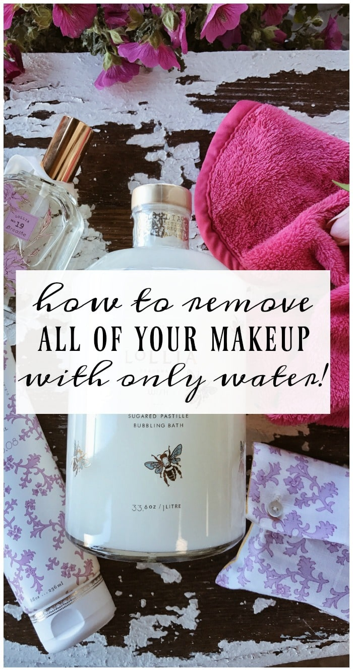 , How To Remove Your Makeup With Only Water