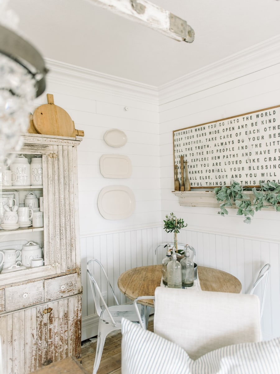 Diy Dining Room Plate Wall Liz Marie Blog