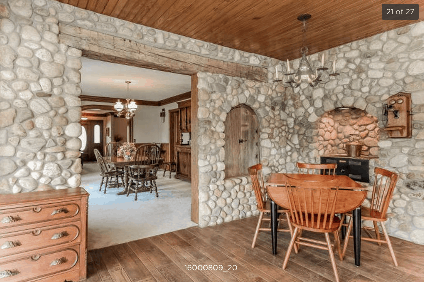 , Kitchen Makeover- Bye Rock Wall