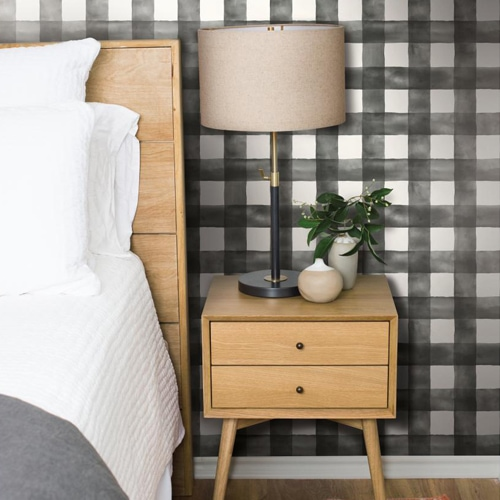 , Guest Bedroom Walls: To Wallpaper or No?