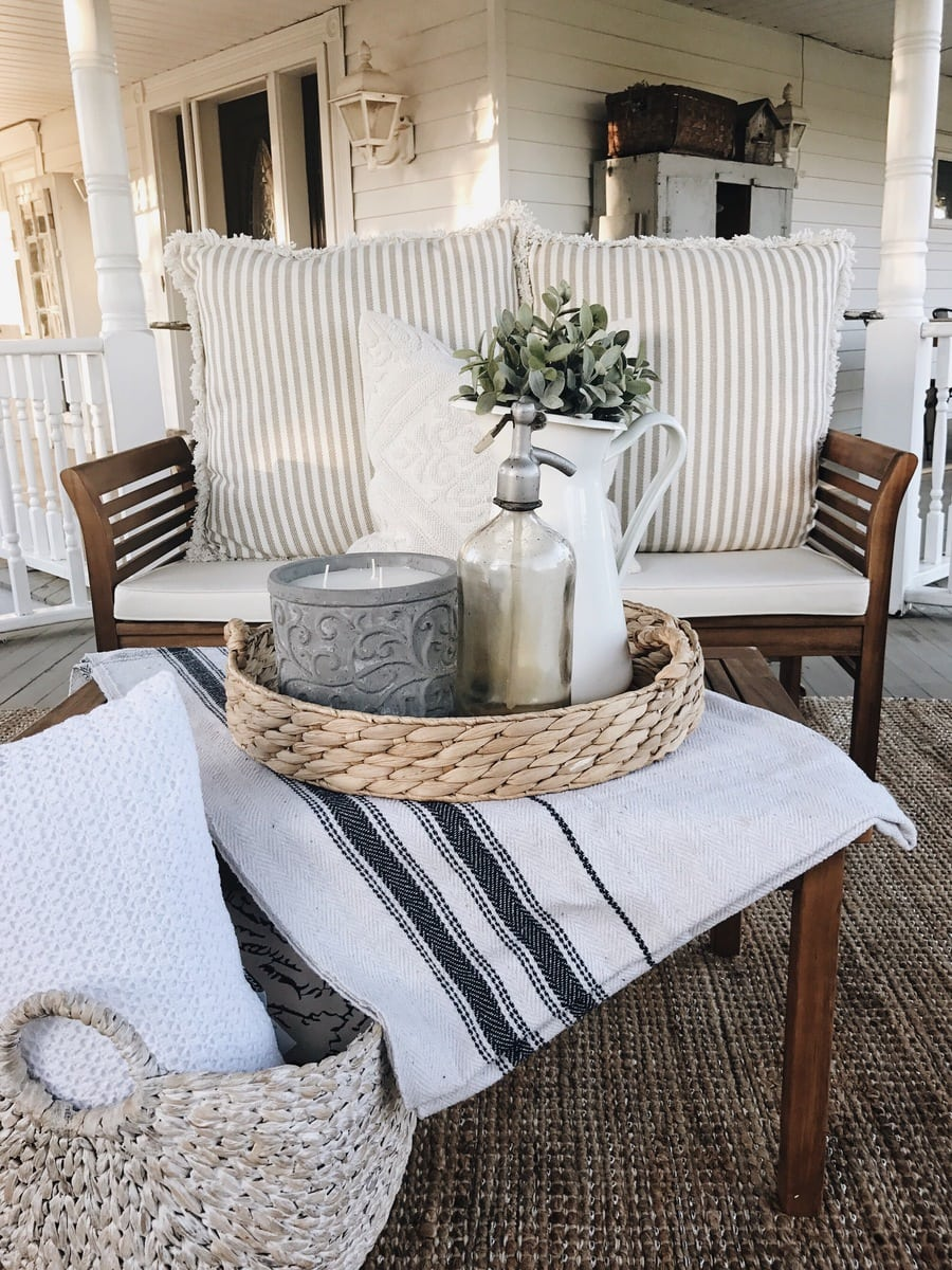 How To Make Any Fabric Outdoor Safe on Farmhouse Yard Ideas id=45476
