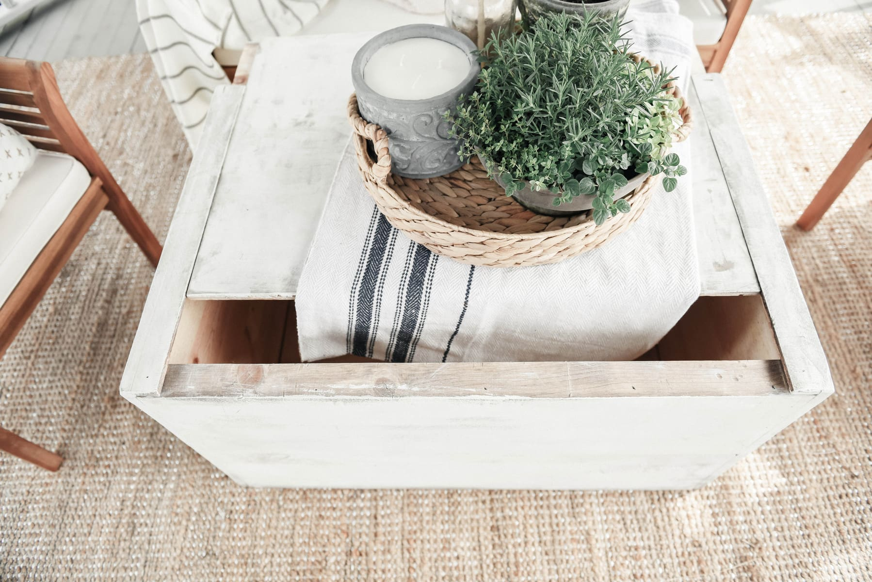 , DIY Trunk Coffee Table
