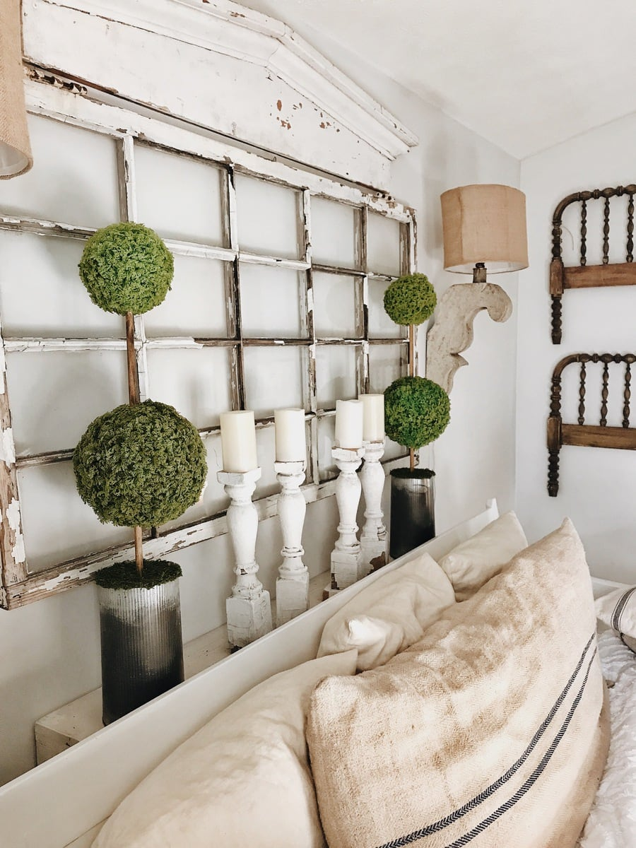 , DIY Moss Ball Topiaries