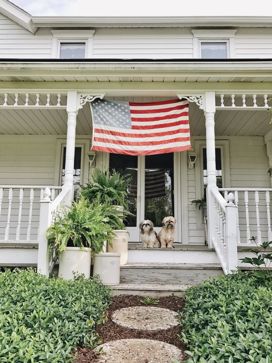 , Happy Memorial Day From White Cottage Farm