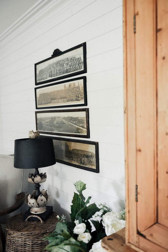 , Vintage Panoramic Photo Gallery Wall – The Beginning