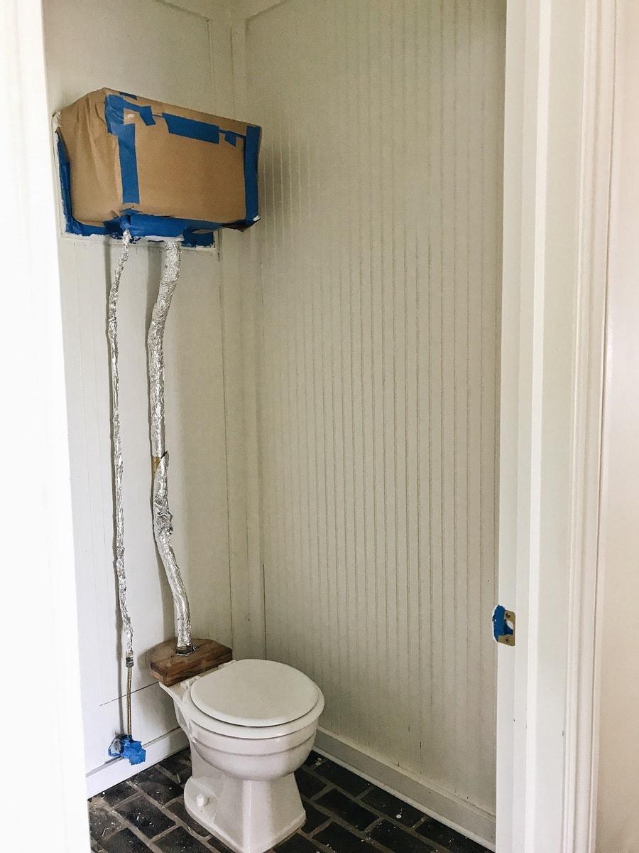 Entryway Bathroom Makeover – The BeadBoard