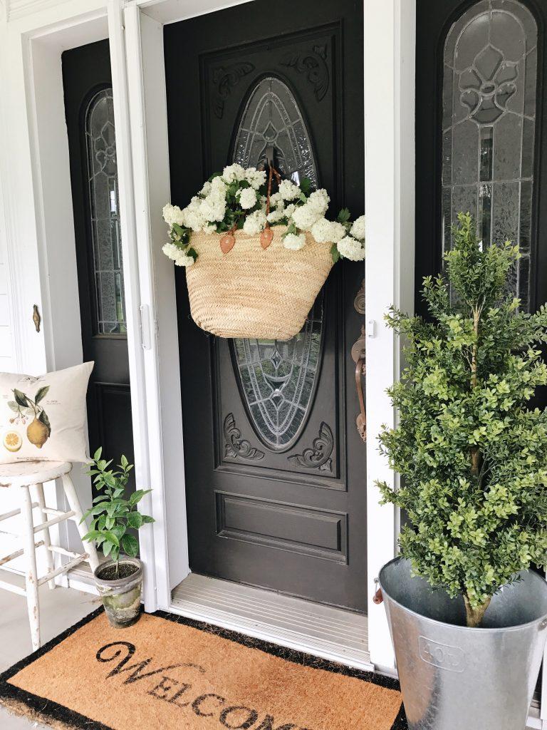 , DIY Market Bag Wreath