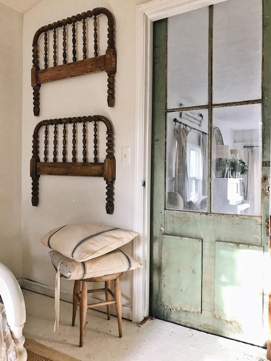 Guest Bedroom Barn Door - Liz Marie Blog