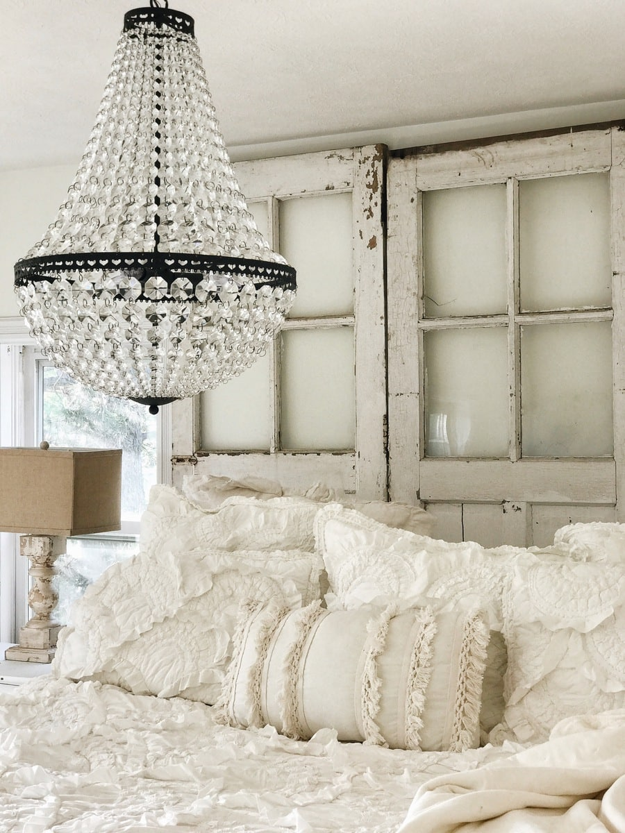 , Master Bedroom Makeover – The Chandelier