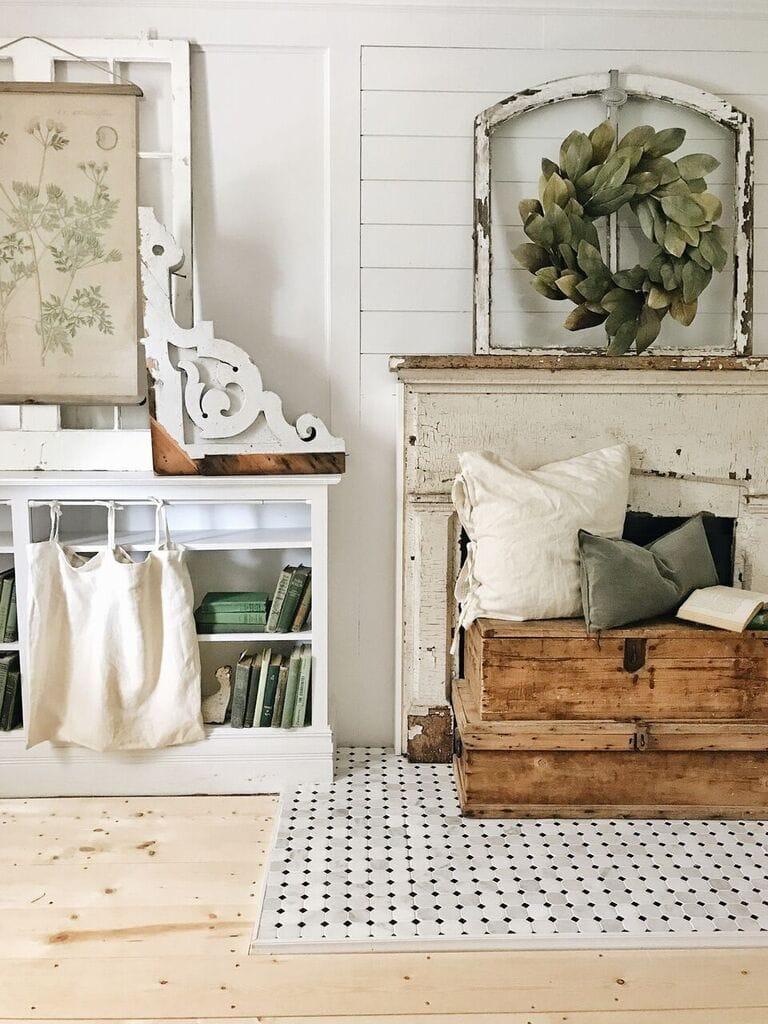 ikea pillows, DIY Bookshelf Curtains From Ikea Pillows