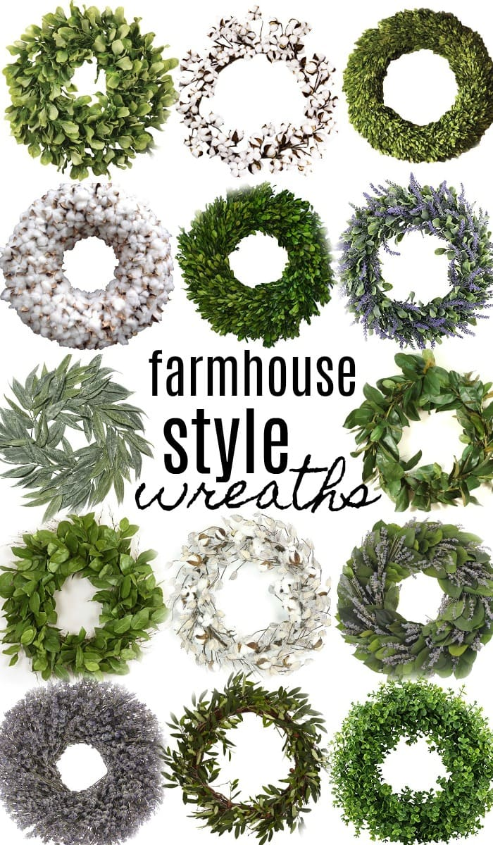 , 14 Farmhouse Style Wreaths