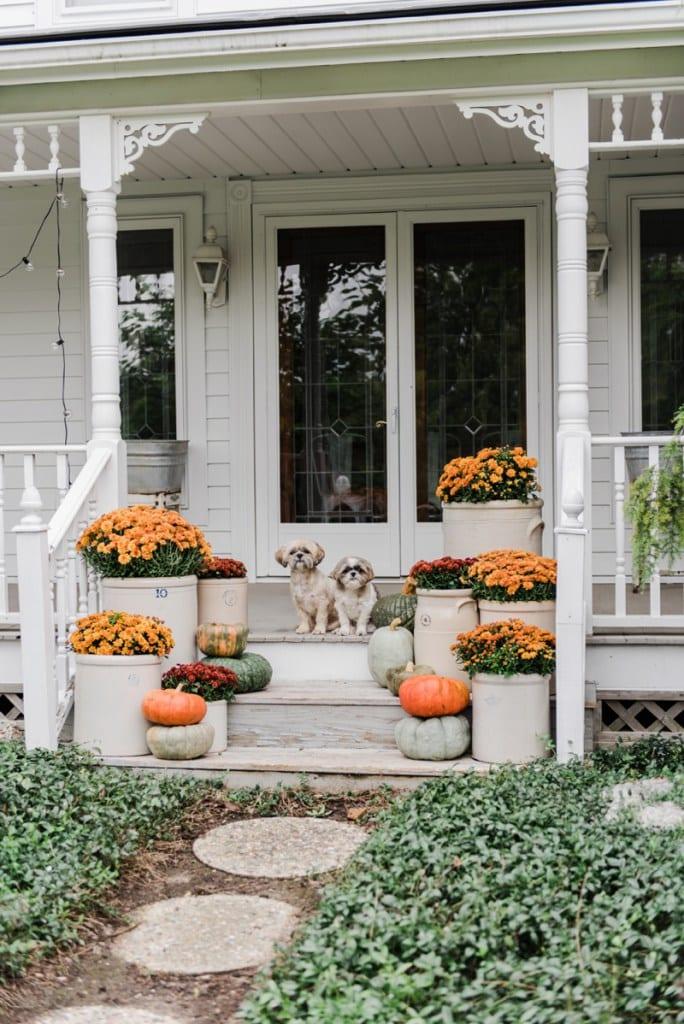 Farmhouse Fall Steps