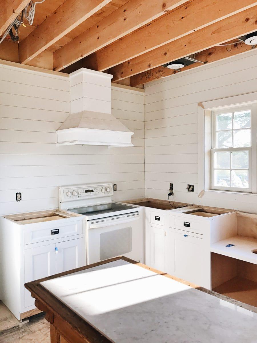 , Kitchen Progress – We Have Cabinets!!