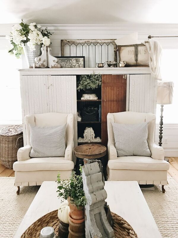 , Tons Of Front Living Room Updates – October 2017