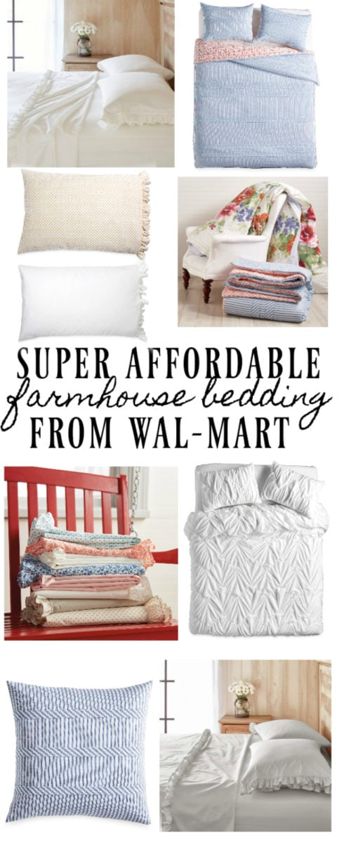 , Super Affordable Farmhouse Bedding – At Walmart!