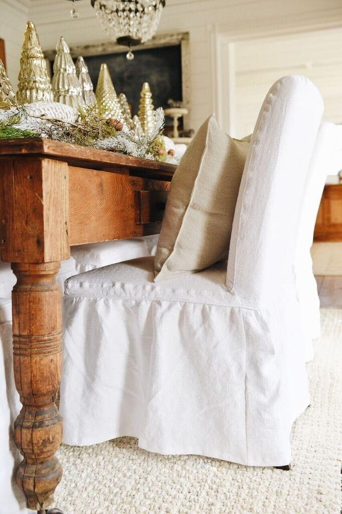 , Farmhouse Style Ikea Slipcovers & A Giveaway