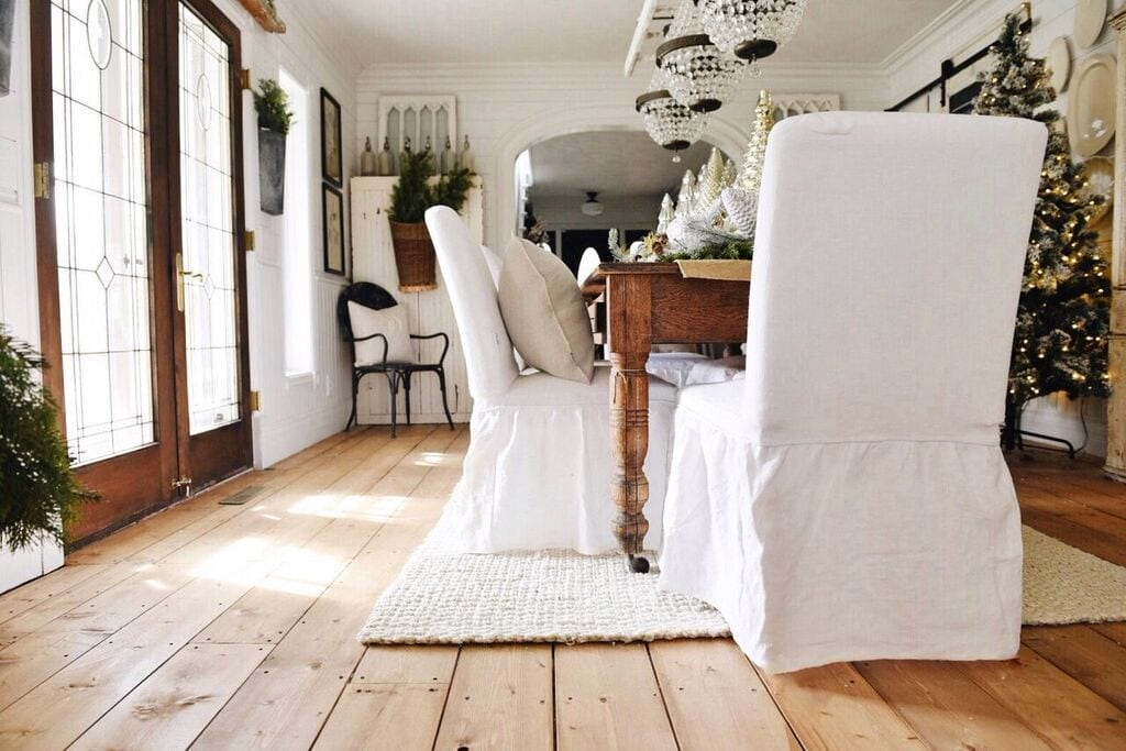 Picture of: Replacement Slip Cover For Ikea Henriksdal Dining Chairs In Linen Effect Fabric Home Furniture Diy Sofas Armchairs Suites Pettumtrampolines Es
