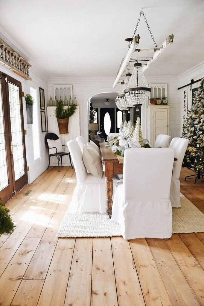 Fantastic Farmhouse Style Ikea Slipcovers A Giveaway Liz Marie Blog Machost Co Dining Chair Design Ideas Machostcouk