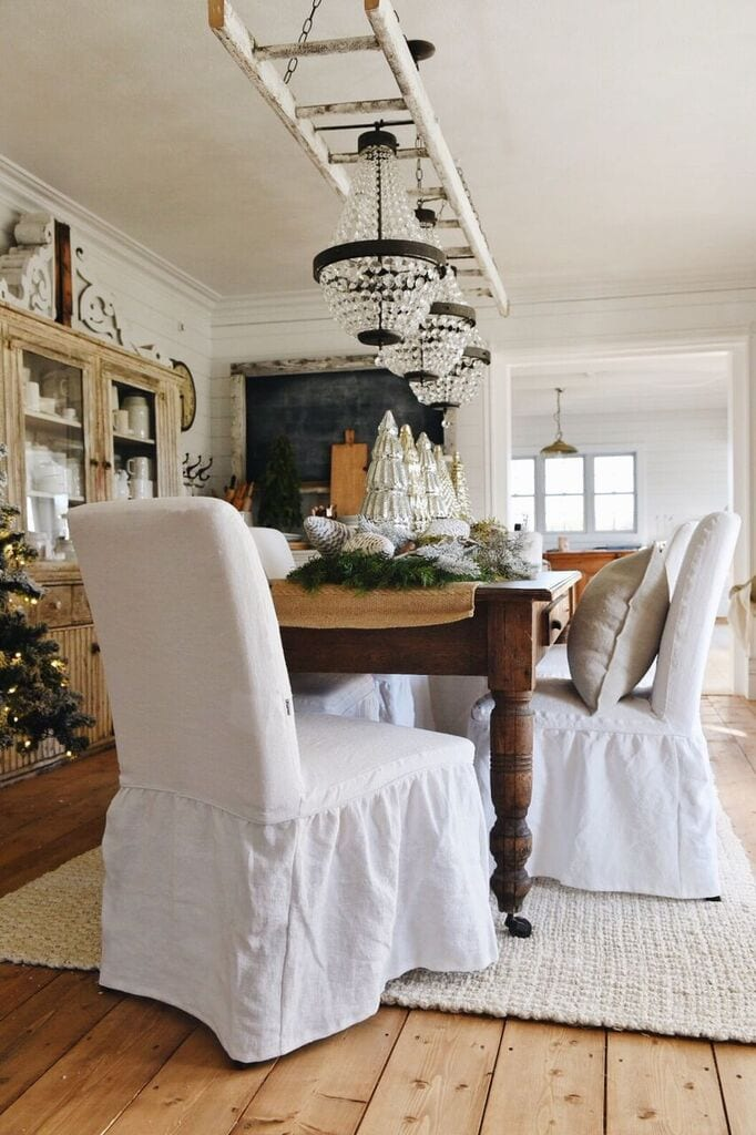 Farmhouse style ikea slipcovers a giveaway liz marie blog for Ikea free couch giveaway