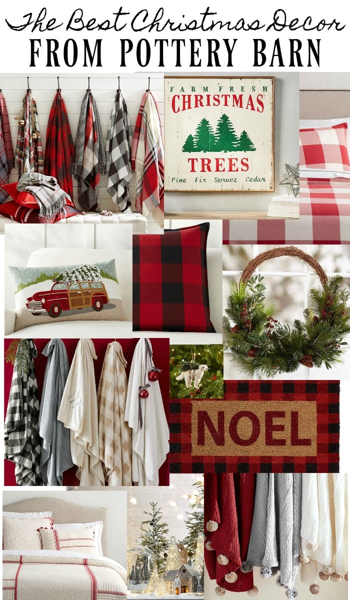 , The Best Christmas Decor From Pottery Barn