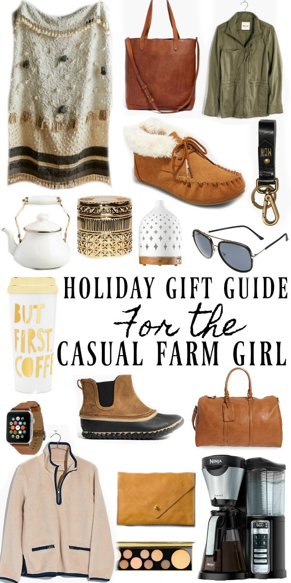 Holiday Gift Guide For The Casual Farm Girl