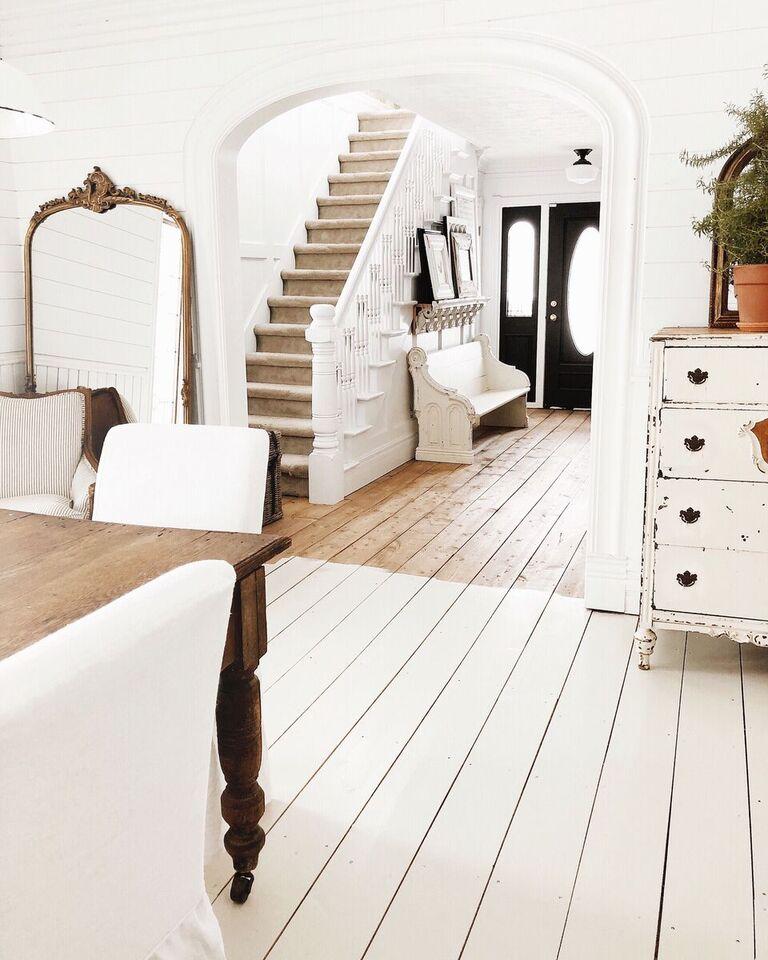 , Painted Floor Adventure – The Biggest Room Yet