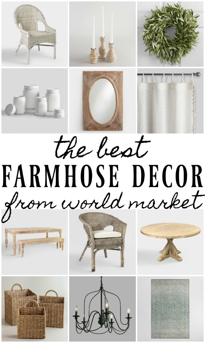 , The Best Farmhouse Decor From World Market