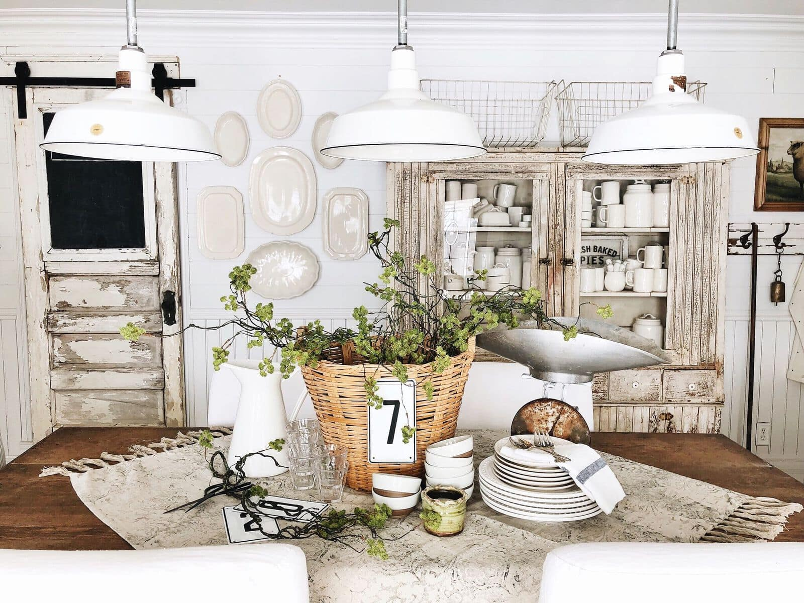 20+ Lovely White Barn Light Pendants