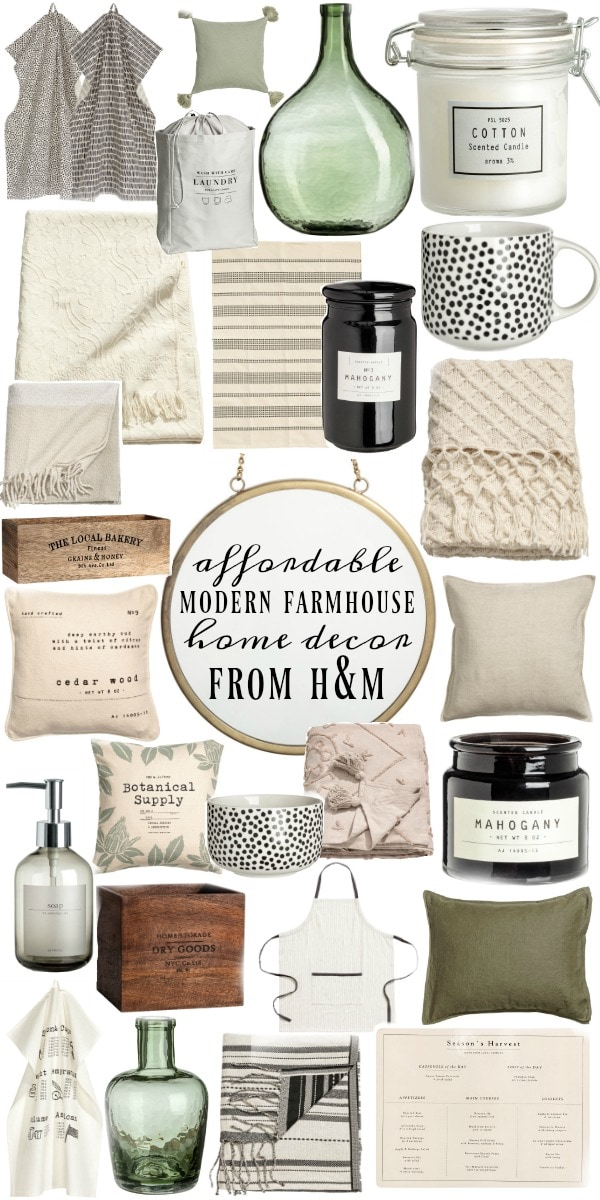 Affordable Modern Farmhouse Decor Liz Marie Blog