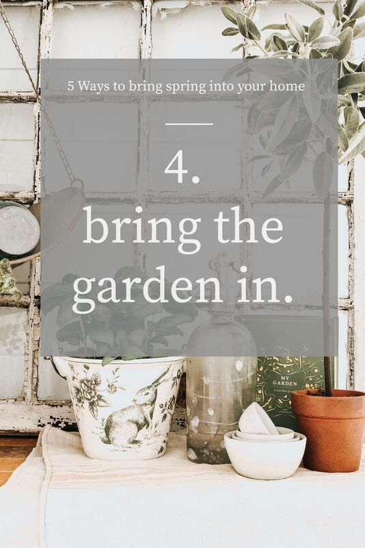 Bring Spring into your home, Five Ways To Bring Spring Into Your Home