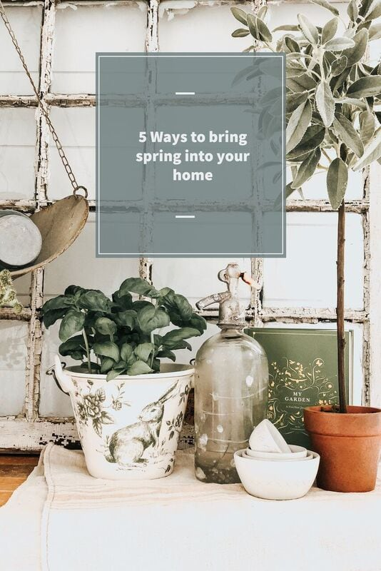Bring Spring into You Home
