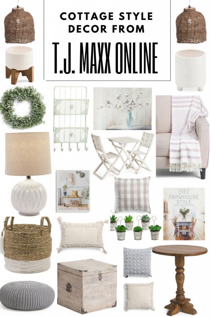 My favorite cottage decor from TJ Maxx Online