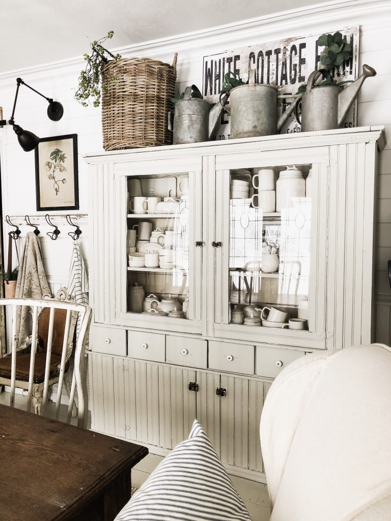 Furniture painted with Gatherings by Magnolia Home